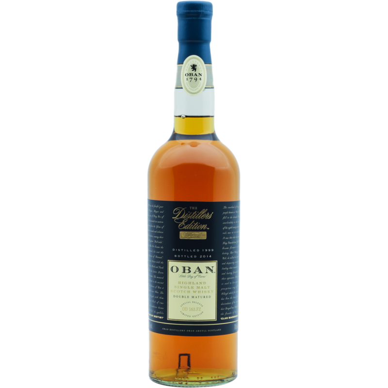Oban Distillers Edition Single Malt Whisky 43 %