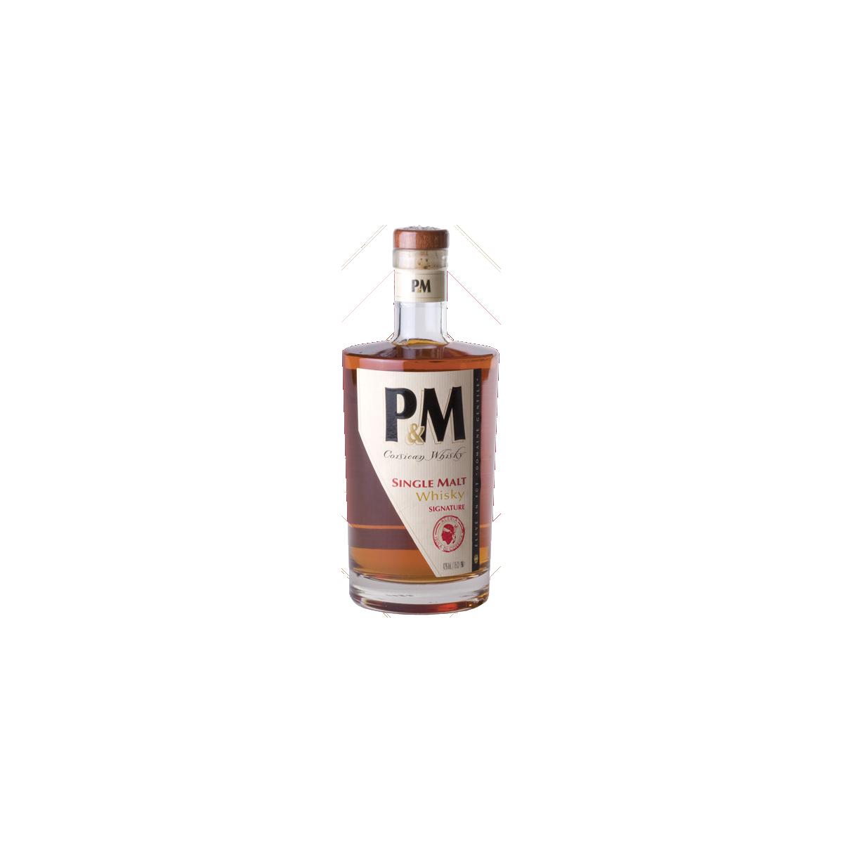 P&M Single Malt Signature Whisky 42%