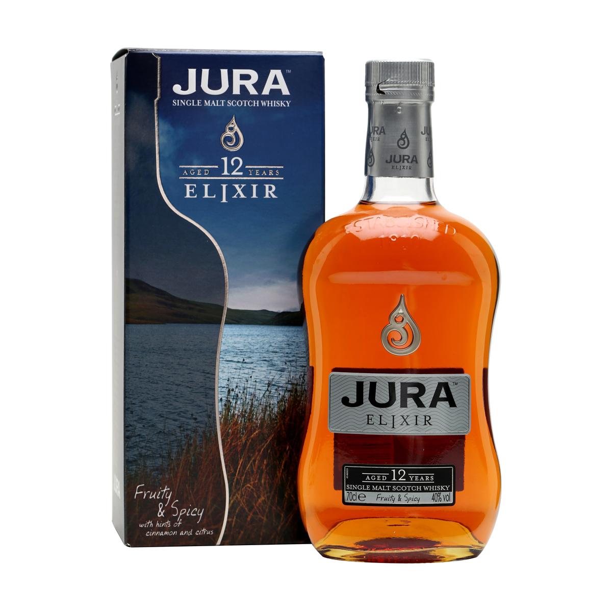 Jura Elixir 12 ans Whisky 46 %