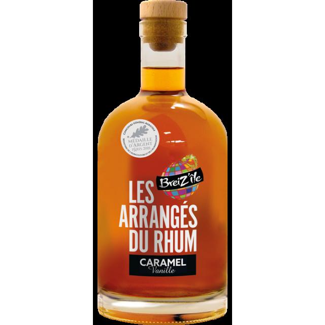 Breiz'île Rhum arrangé Caramel vanille 28 %