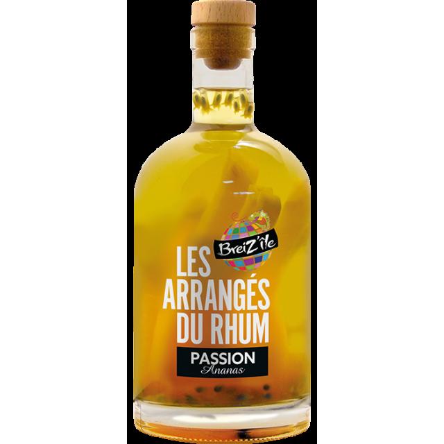 Breiz'île Rhum arrangé Passion ananas 28 %