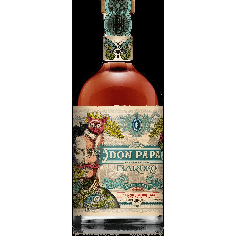 Don Papa Baroko Rhum 40 %
