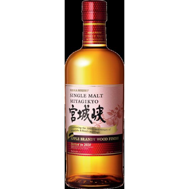 Nikka Miyagikyo Apple Brandy Wood Finish Whisky 47 %