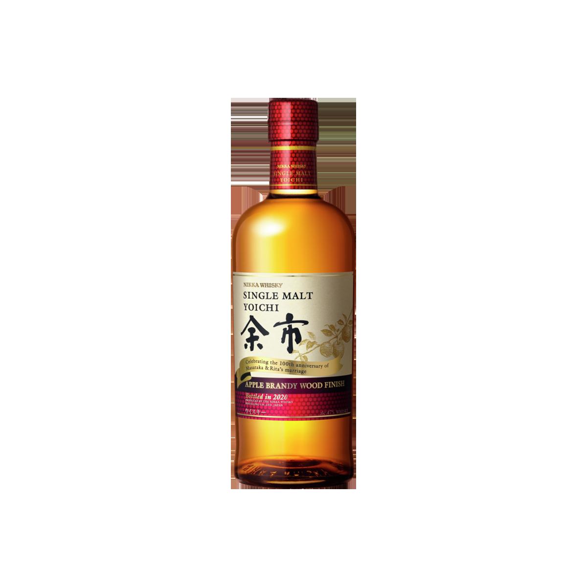 Nikka Yoichi Apple Brandy Wood Finish Whisky 47 %