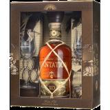 Plantation XO 20ème anniversaire Coffret cadeau 2 verres Rhum