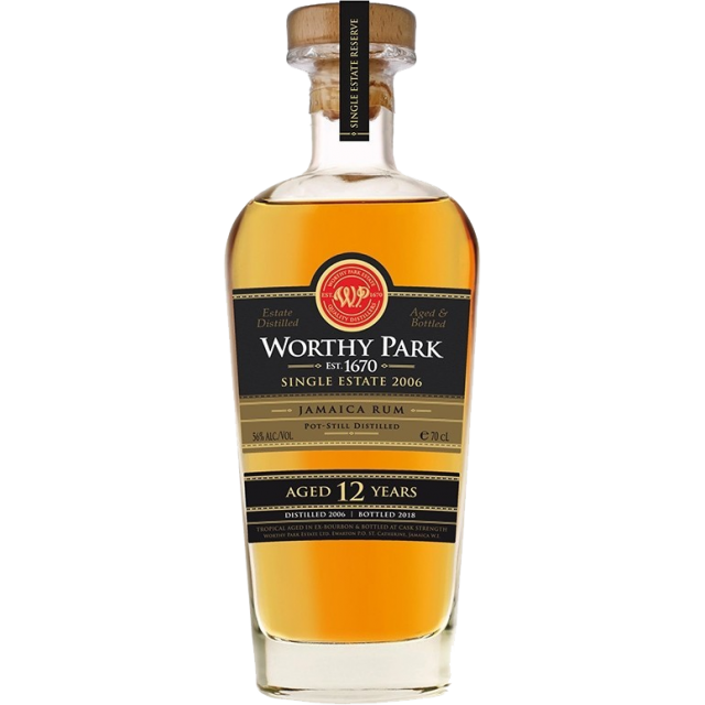 Worthy Park 2006 Single Estate Reserve Rhum 56 %