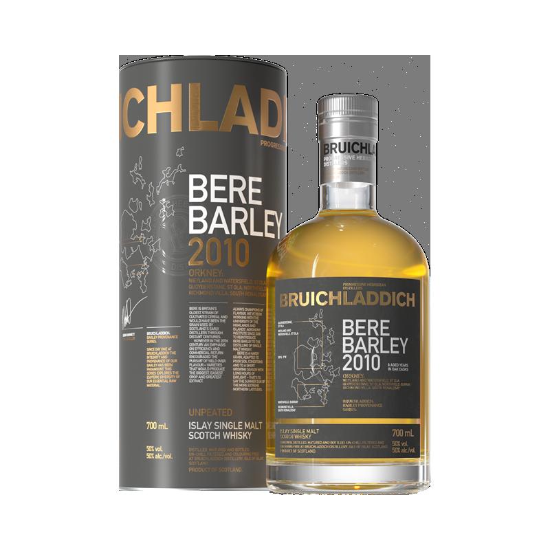 Bruichladdich Bere Barley 2010 Whisky 50 %