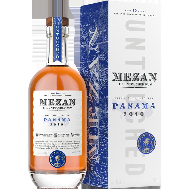 Mezan Panama 2010 Rhum 46 %