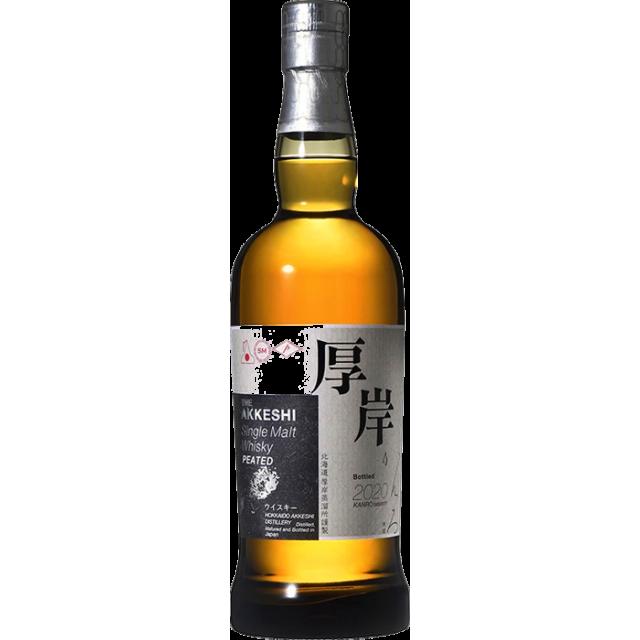 Akkeshi Single Malt Peated Kanro Whisky 55 %