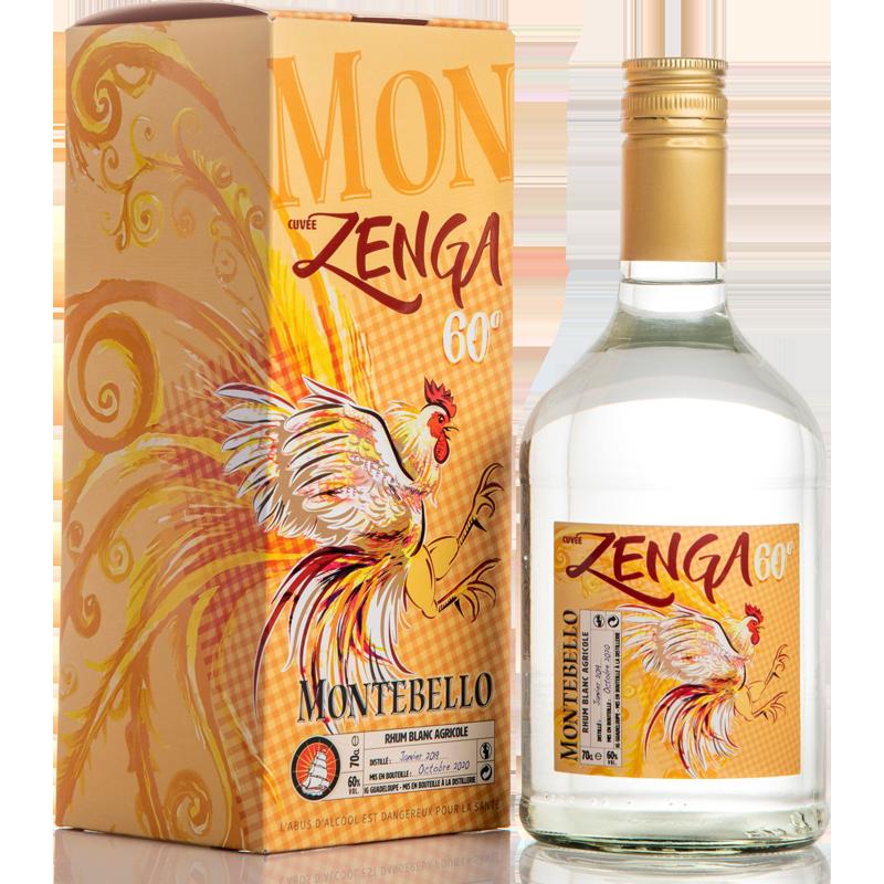 Montebello Zenga Rhum Blanc 60 %