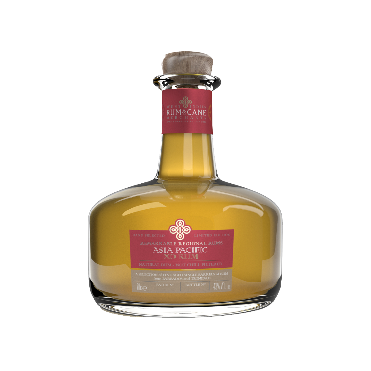 Rum & Cane Asia Pacific XO Rhum 40,3%
