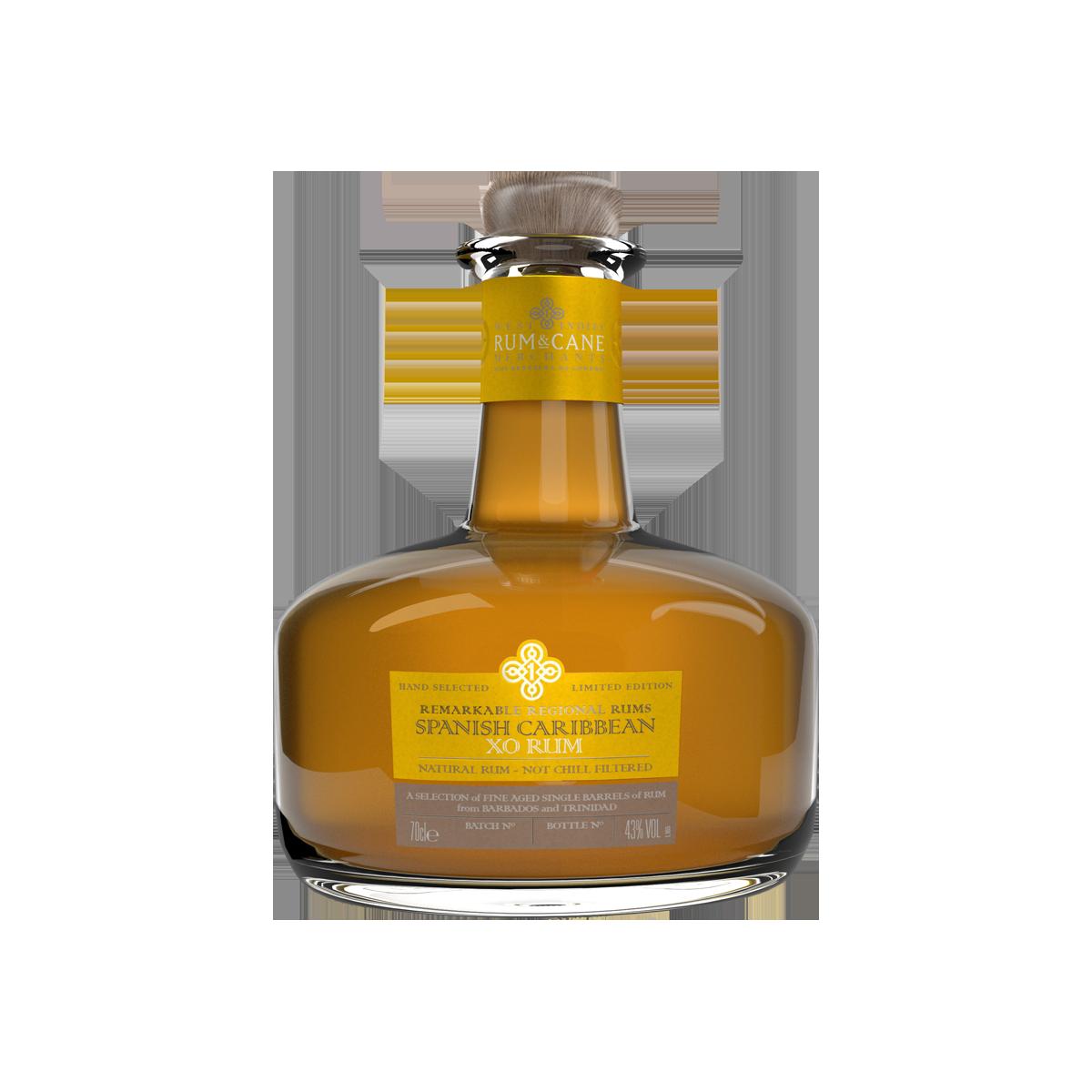Rum & Cane Spanish Caribbeans XO Rhum 43%